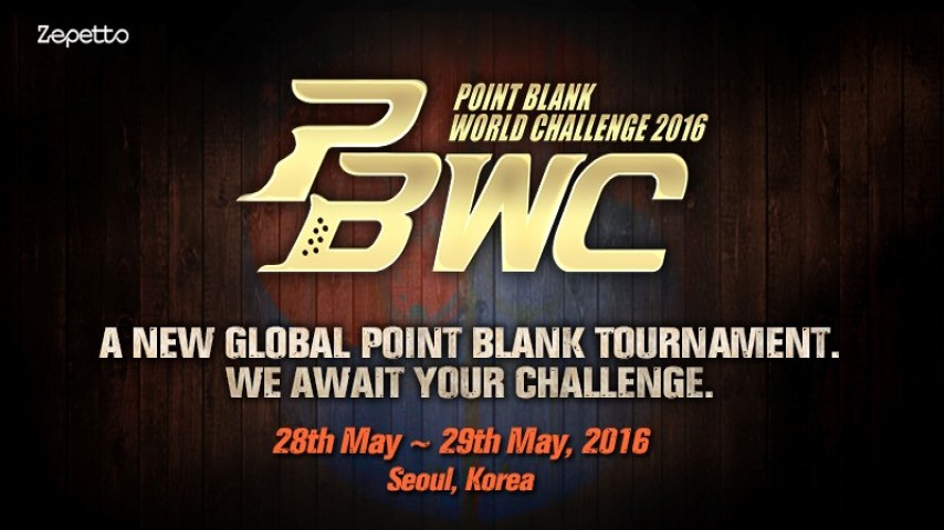Zepetto to host Point Blank World Challenge 2016 in South Korea