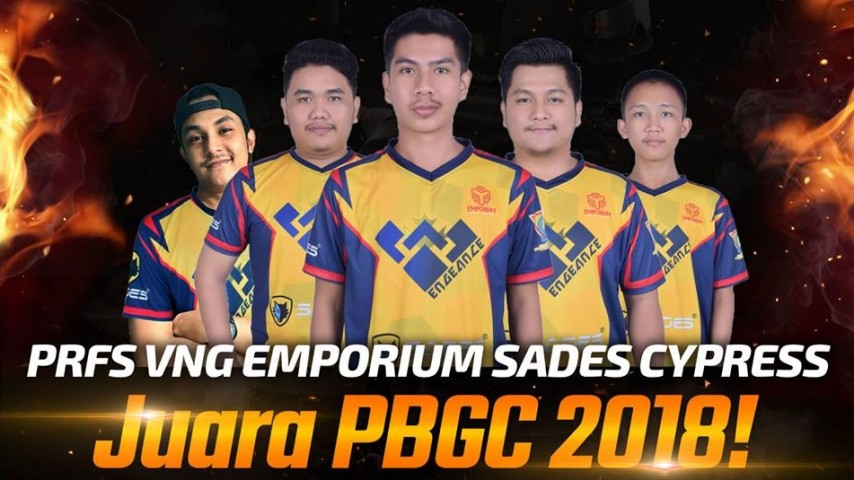 Announcing PBWC 2018 Indonesian national team: Vengeance Team!