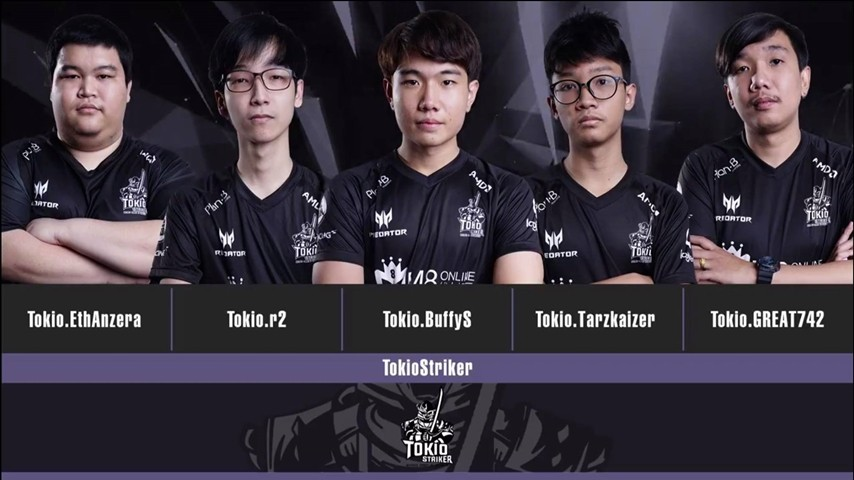 Announcing PBWC 2018 Thailand national team: TokioStriker!