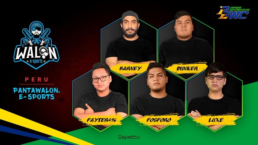 Pantawalon e-Sports : Peruvian National Team for PBWC 2018!