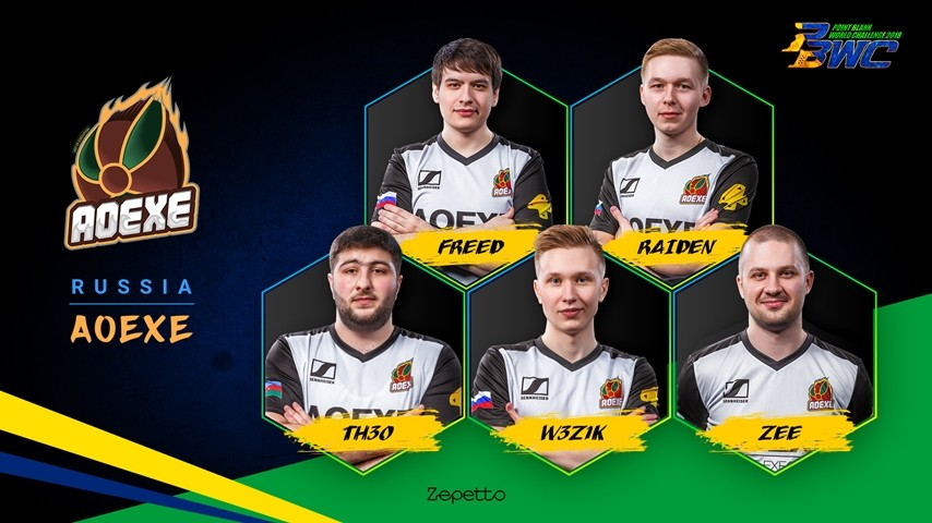 AoeXe : Russian National Team for PBWC 2018!