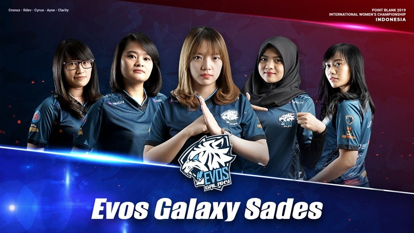 Evos Galaxy Sades : Indonesian PBIWC 2019 National Team!
