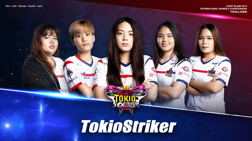 TokioStriker Lady : Thailand PBIWC 2019 national Team!