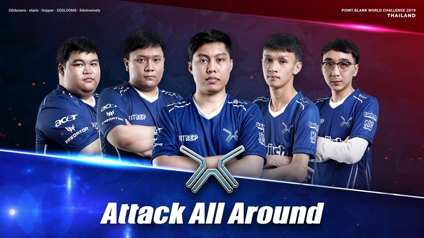 Attack All Around : Thailand PBWC 2019 national Team!