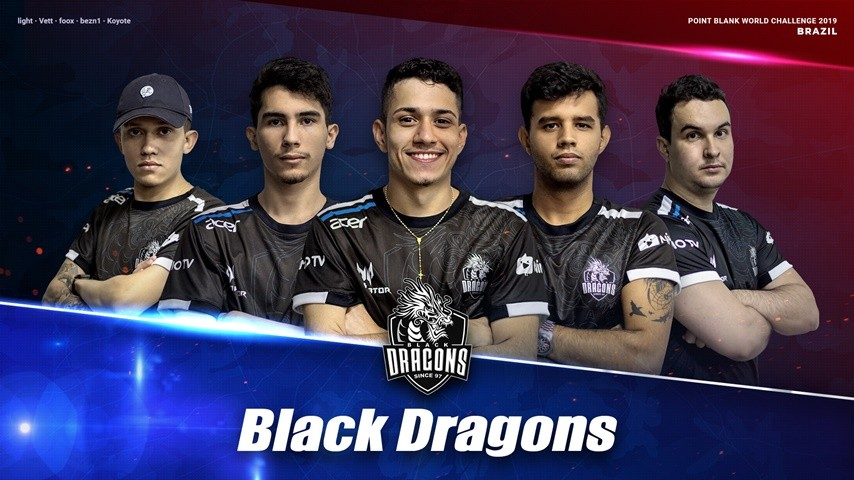 Black Dragons : Brazil PBWC 2019 National Team!