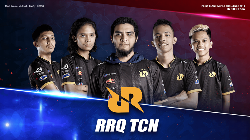 RRQ TCN : Indonesia PBWC 2019 national Team!